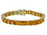 Bella Luce® 62.94ctw Yellow Diamond Simulant 18k Gold Over Silver Bracelet