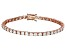 Bella Luce® 16.96ctw Round Diamond Simulant 18k Rose Gold Over Silver Bracelet