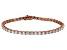 Bella Luce® 10.69ctw Oval Diamond Simulant 18k Rose Gold Over Silver Bracelet