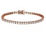 Bella Luce® 12.28ctw Diamond Simulant 18k Rose Gold Over Silver Bracelet
