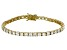 Bella Luce® 16.96ctw Round Diamond Simulant 18k Yellow Gold Over Silver Bracelet