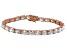 Bella Luce® 24.70ctw Oval Diamond Simulant 18k Rose Gold Over Silver Bracelet