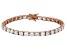 Bella Luce® 25.84ctw Round Diamond Simulant 18k Rose Gold Over Silver Bracelet