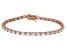 Bella Luce® 11.63ctw Oval Diamond Simulant 18k Rose Gold Over Silver Bracelet