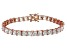 Bella Luce® 35.53ctw Diamond Simulant 18k Rose Gold Over Silver Bracelet