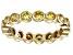 Bella Luce® 2.88ctw Yellow Diamond Simulant 18k Yellow Gold Over Silver Ring