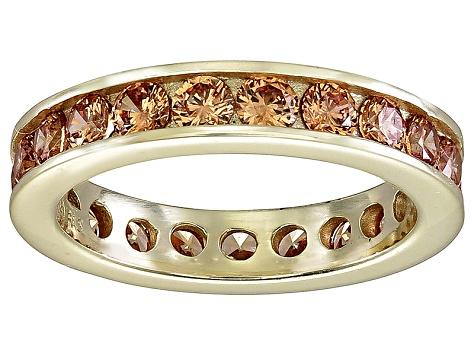 Bella Luce® 3.42ctw Champagne Diamond Simulant 18k Gold ...