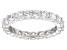 Bella Luce® 3.60ctw Round Diamond Simulant Rhodium Over Sterling Silver Ring