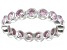 Bella Luce® 2.88ctw Round Pink Diamond Simulant Rhodium Over Silver Ring