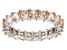 Bella Luce® 4.75ctw Champagne Diamond Simulant Rhodium Over Silver Ring