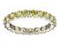 Bella Luce® 3.60ctw Round Yellow Diamond Simulant Rhodium Over Silver Ring