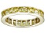 Bella Luce® 4.75ctw Yellow Diamond Simulant 18k Yellow Gold Over Silver Ring