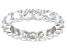 Bella Luce® 6.08ctw Round Diamond Simulant Rhodium Over Sterling Silver Ring