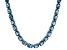 Bella Luce® 65.31ctw Oval Apatite Simulant Rhodium Over Silver Tennis Necklace