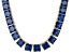 Bella Luce® 256.03ctw Tanzanite Simulant 18k Gold Over Silver Necklace