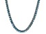 Bella Luce® 21.63ctw Apatite Simulant Rhodium Over Silver Solitaire Necklace