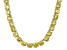 Bella Luce® 126.64ctw Yellow Diamond Simulant Rhodium Over Silver Necklace