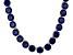 Bella Luce® 174.42ctw Round Tanzanite Simulant 18k Gold Over Silver Necklace