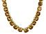 Bella Luce® 174.42ctw Champagne Diamond Simulant 18k Gold Over Silver Necklace