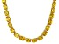 Bella Luce® 96.66ctw Yellow Diamond Simulant 18k Gold Over Silver Necklace