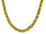 Bella Luce® 60.80ctw Oval Yellow Diamond Simulant Rhodium Over Silver Necklace