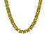 Bella Luce® 134.66ctw Yellow Diamond Simulant Rhodium Over Silver Necklace
