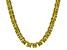 Bella Luce® 134.66ctw Yellow Diamond Simulant Rhodium Over Silver Necklace