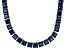Bella Luce® 112.48ctw Tanzanite Simulant 18k Gold Over Silver Necklace