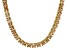 Bella Luce® 46.17ctw Champagne Diamond Simulant 18k Gold Over Silver Necklace