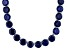 Bella Luce® 214.13ctw Tanzanite Simulant Rhodium Over Silver Tennis Necklace