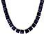 Bella Luce® 134.66ctw Tanzanite Simulant 18k Gold Over Silver Necklace