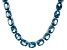 Bella Luce® 88.45ctw Oval Apatite Simulant Rhodium Over Silver Tennis Necklace