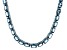 Bella Luce® 45.60ctw Oval Apatite Simulant Rhodium Over Silver Tennis Necklace