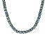 Bella Luce® 21.63ctw Princess Apatite Simulant 18k Gold Over Silver Necklace