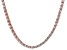 Bella Luce® 26.13ctw Oval Diamond Simulant 18k Rose Gold Over Silver Necklace