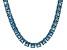 Bella Luce® 104.74ctw Princess Apatite Simulant Rhodium Over Silver Necklace