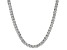 Bella Luce® 30.81ctw Diamond Simulant Rhodium Over Silver Tennis Necklace