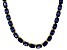 Bella Luce® 60.80ctw Oval Tanzanite Simulant 18k Gold Over Silver Necklace