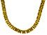 Bella Luce® 134.66ctw Yellow Diamond Simulant 18k Gold Over Silver Necklace
