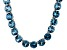 Bella Luce® 132.67ctw Apatite Simulant Rhodium Over Silver Tennis Necklace