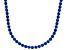 Bella Luce® 90.28ctw Round Tanzanite Simulant Rhodium Over Silver Necklace