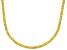 Bella Luce® 40.81ctw Yellow Diamond Simulant 18k Gold Over Silver Necklace