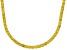 Bella Luce® 61.77ctw Round Yellow Diamond Simulant Rhodium Over Silver Necklace
