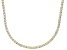 Bella Luce® 40.81ctw Round Diamond Simulant 18k Gold Over Silver Necklace