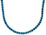 Bella Luce® 61.77ctw Round Apatite Simulant 18k Gold Over Silver Necklace