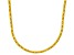 Bella Luce® 23.24ctw Yellow Diamond Simulant 18k Gold Over Silver Necklace