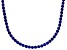 Bella Luce® 61.77ctw Round Tanzanite Simulant Rhodium Over Silver Necklace