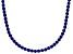 Bella Luce® 61.77ctw Round Tanzanite Simulant Rhodium Over Silver Necklace