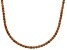 Bella Luce® 40.81ctw Champagne Diamond Simulant Rhodium Over Silver Necklace