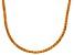 Bella Luce® 40.81ctw Champagne Diamond Simulant 18k Gold Over Silver Necklace